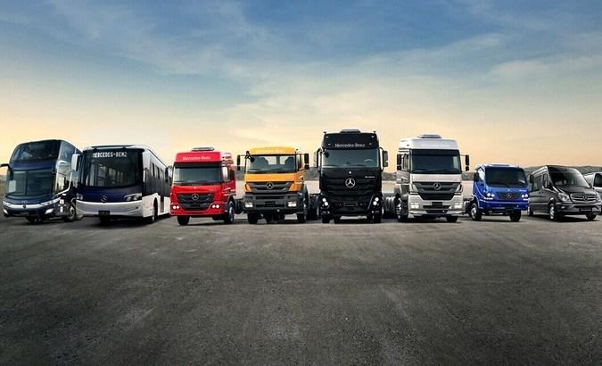 Mercedes-Benz ganha prêmio pela liderança de vendas em todos os segmentos de veículos no Brasil