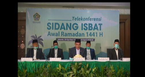 Sidang Isbat: Pemerintah Tetapkan Awal Ramadhan Jumat 24 April 2020