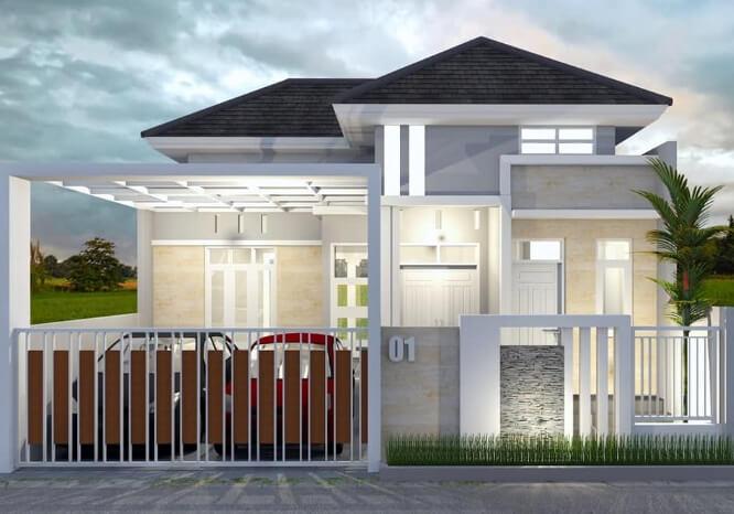 Model Tampak Depan Rumah Minimalis Sederhana Rumah Minimalis
