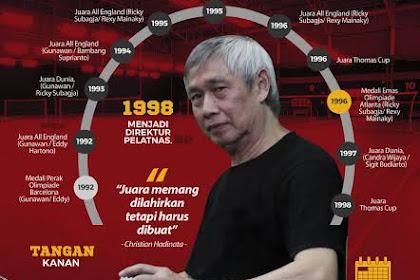 Selamat ulang tahun sang legenda bulutangkis Indonesia