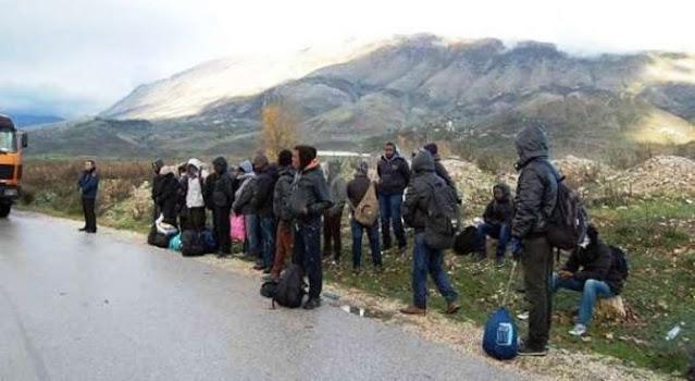 syrian, algerian and maroccan clandestines in south albania