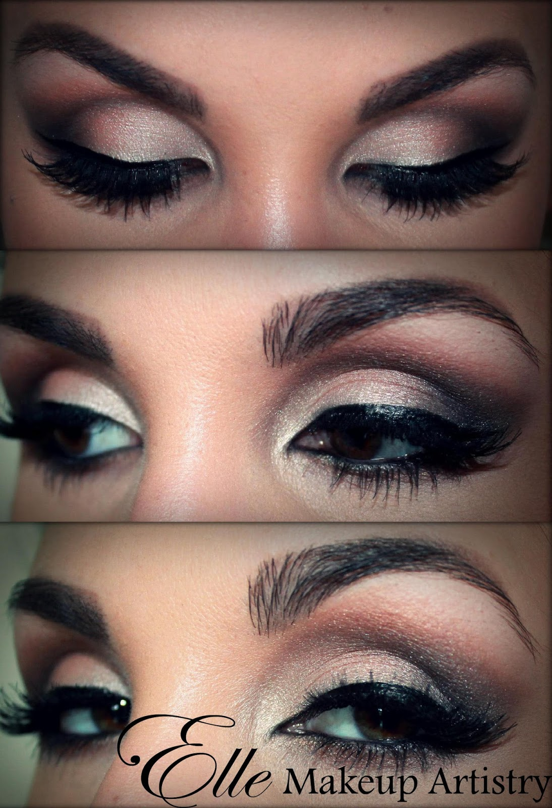 Smokey Eye Makeup: Elle Makeup Artist: Smokey Eyes, Airbrushed Face, Special