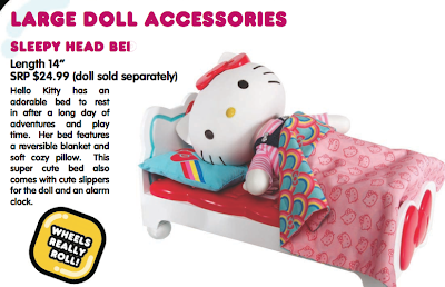 5473d3e035 Hello Kitty can also have her own special bed and a truly adorable scooter.  We haven t played with the accessories yet but they look like they d be  great ...