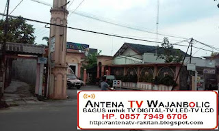 jual  ANTENA TV Bagus WAJANBOLIC Perumahan Kota Mas Cimahi