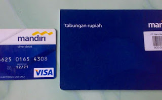 KARTU ATM BIRU BANK MANDIRI