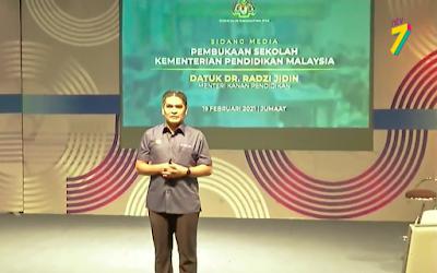 Pengumuman Pembukaan Sekolah Tahun 2021 Oleh Kementerian Pendidikan Malaysia 1