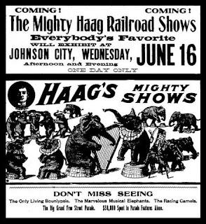 Haag Circus Ad