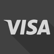 visa shadow button