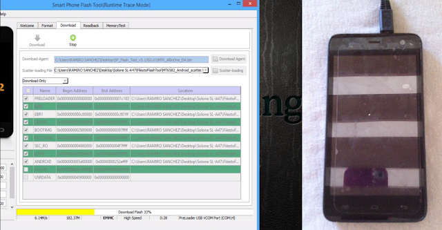 Desbrikear Telefono MTK Chino con flash tool
