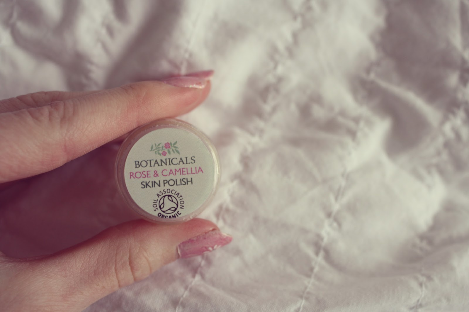 Botanicals natural skin care sample skin polish