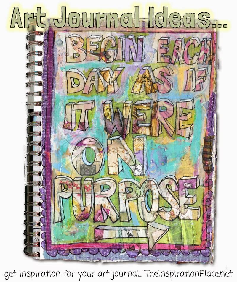 art journal ideas: develop a personal mantra http://schulmanart.blogspot.com/2015/02/art-journal-ideas-create-personal-mantra.html