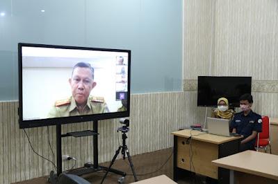 Sekdaprov Lampung Menjadi Penguji Kegiatan Sekolah Pimpinan Tinggi Bank Indonesia (SESPIBI) XXXVI Tahun 2020