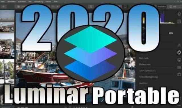تحميل برنامج تحرير وتعديل الصور Luminar AI Portable اخر اصدار نسخة محمولة مفعلة