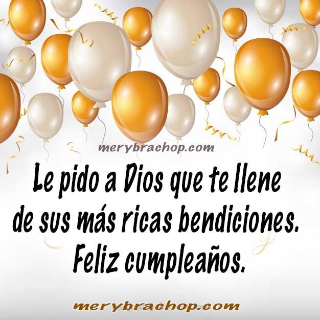 Mensajes Cristianos Cortos Y Bonitos De Feliz Cumpleaños