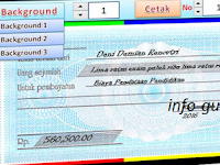 Aplikasi Cetak Kwitansi dan BA BOS Format Excel