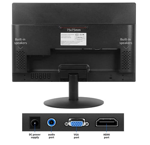 Thinlerain 15-inch 16:9 LED Backlit PC Monitor