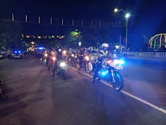 Jaga Kamtibmas Kondusif Saat malam Idul Fitri TNI-Polri Gelar Patroli Skala Besar
