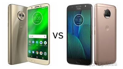 Moto G6 Plus vs Moto G5s Plus