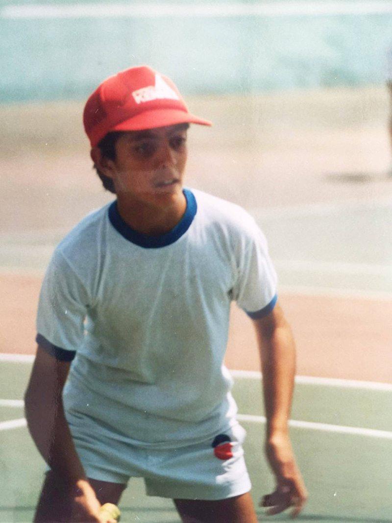 Pato Laguna y su pasado como tenista