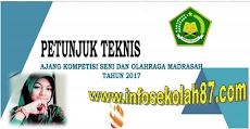 Juknis Ajang Kompetisi Seni Dan Olah Raga Madrasah (AKSIOMA) Tahun 2017