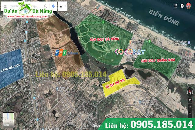 Vị trí đắt địa của One World - Đất Quảng Riverside