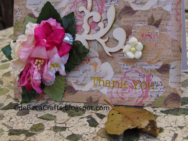 Thank You Cards by CdeBaca Crafts Blogger.