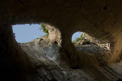 Божьи глаза, Пещера Проходна, Болгария