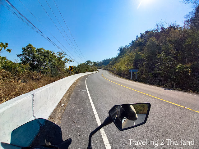 Motorbike Riding North Thailand