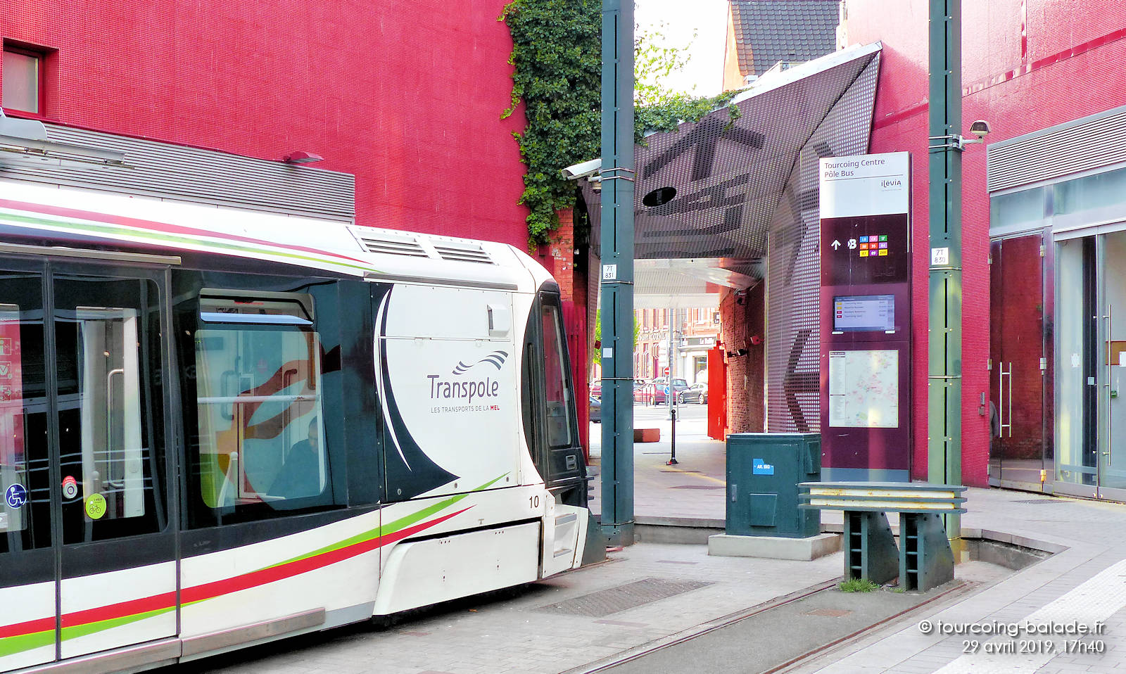 Tramway Tourcoing Centre - Transpole