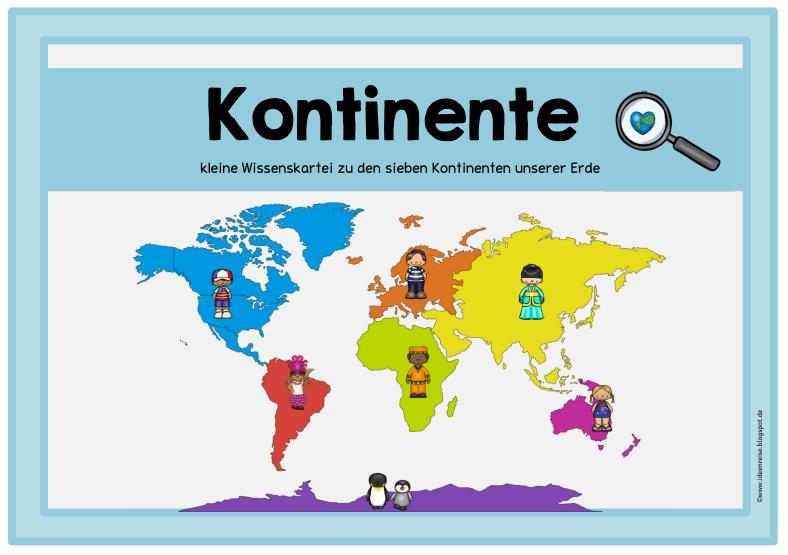 Ideenreise Blog Ein Bisschen Material Zu Den Kontinenten