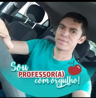 Prefeito Nelinho Costa nas redes sociais, lamentou a morte do professor cacimbense Marivaldo