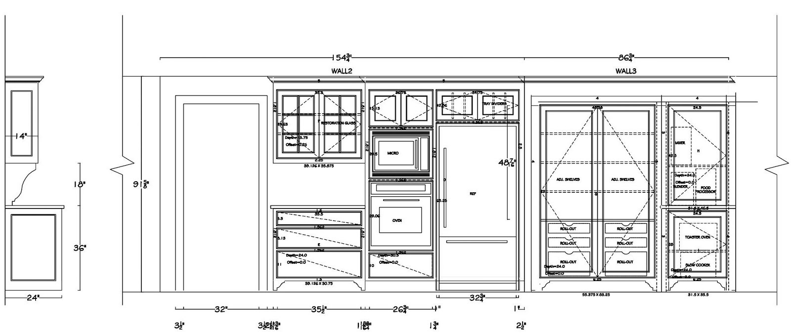 kitchen cabinet shop drawings the lyons renovation cabinet shop drawings 5763