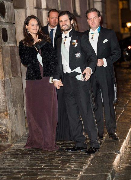 Swedish Royals at the Swedish Academy 2016 formal
