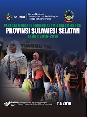 Pekerja Migran Indonesia (PMI) dalam Angka Provinsi Sulawesi Selatan 2016-2018
