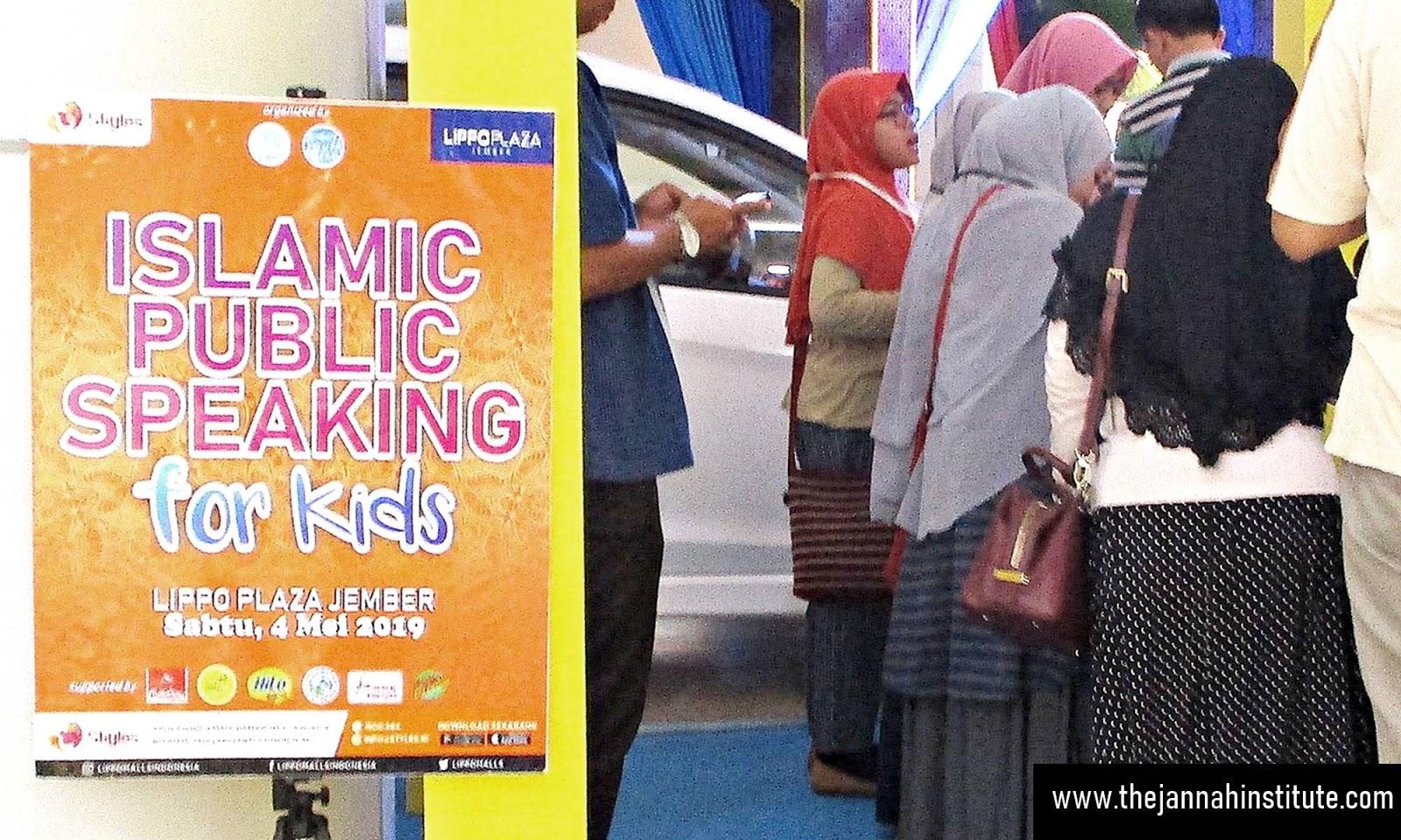 One Day Workshop Islamic Public Speaking for Kids, Belajar ...