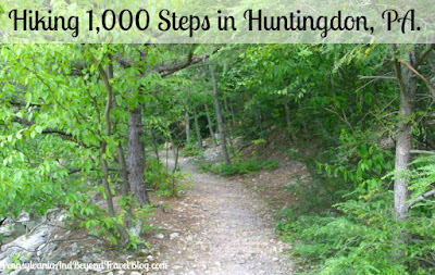 Hiking at 1,000 Steps and Jack's Mountain in Huntingdon