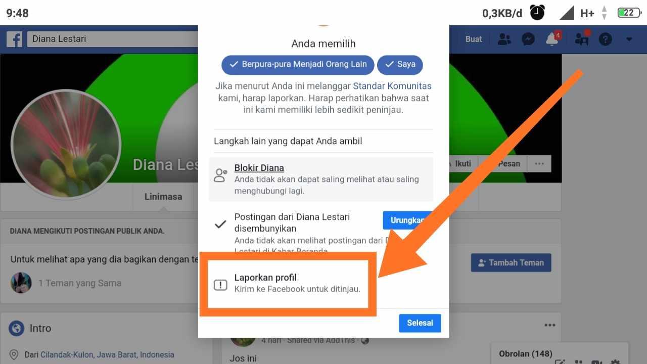 Cara MENGEMBALIKAN fb yang di hack dengan software