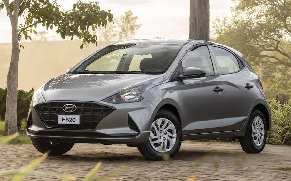 Hyundai vai sortear 3 HB20 para quem realizar revisão com troca de óleo Shell
