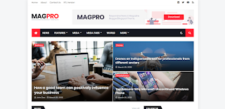 Mag Pro Blogger Template Free Download 2020