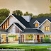 Single storied 4 BHK house architecture