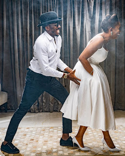 Nigerian Comedian, Bovi And Wife, Kris, Celebrate 11 Years Of Marriage (PHOTOS)