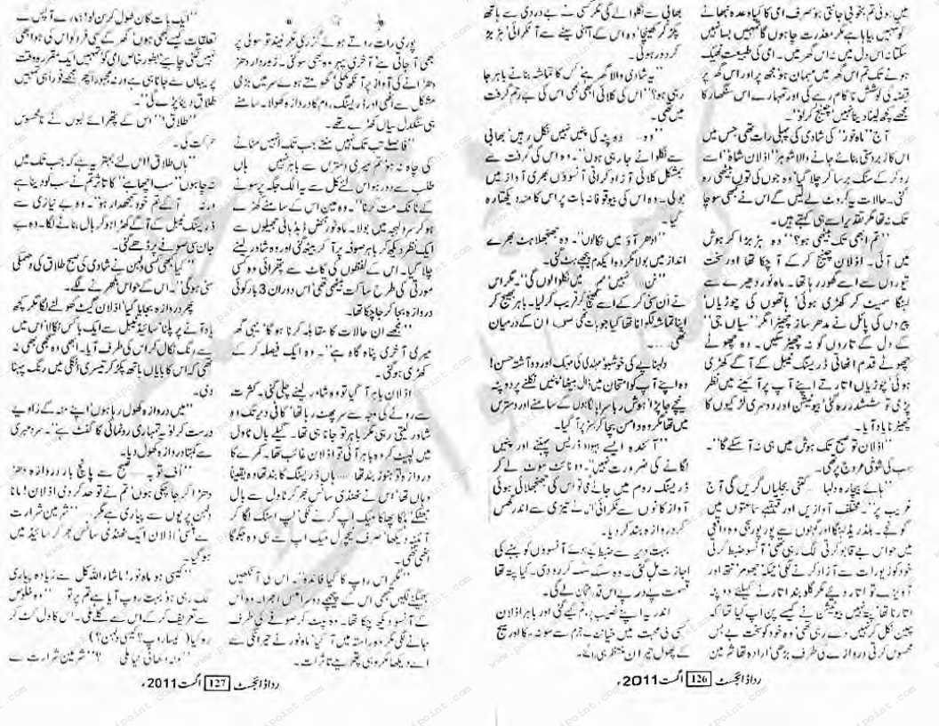 Tujh Se Mohabbat Ho Gai Thi Kashish Khan Forced Marriage Novel