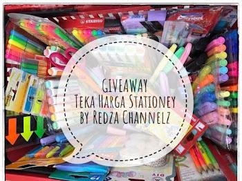 Giveaway : Teka Harga Stationery by Redza Channelz