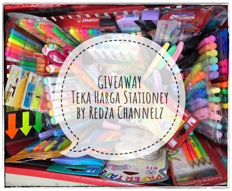 Giveaway : Teka Harga Stationery by Redza Channelz