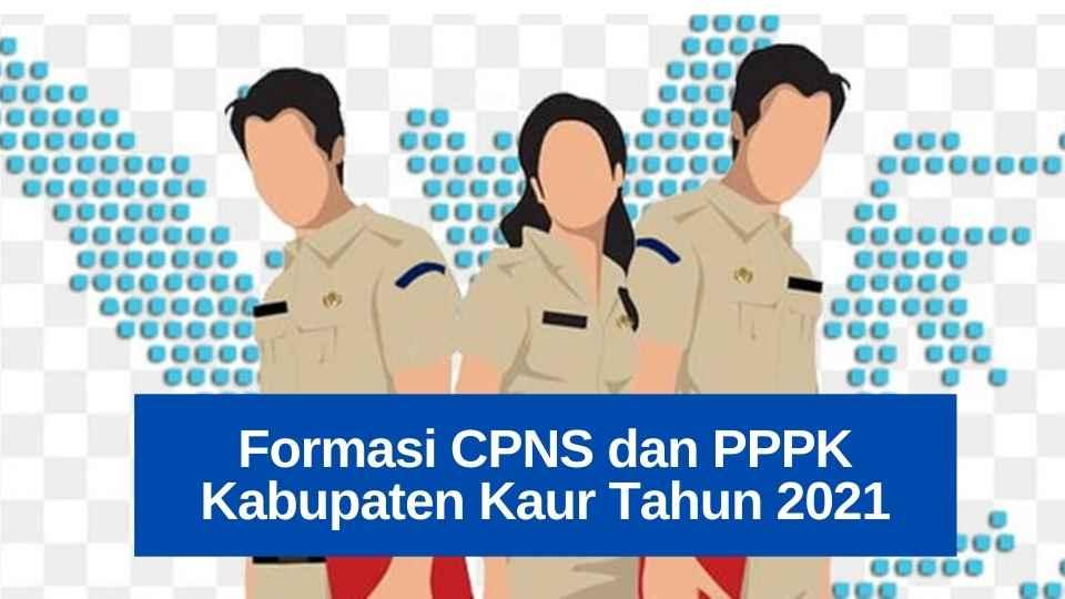 [Download] Formasi CPNS dan PPPK Kabupaten Kaur Terbaru Tahun 2021
