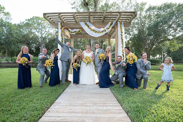 Bridal Party fun shot Magnolia Manor Wedding Photos by Stuart Wedding Photographer Heather Houghton Photography