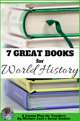 Reading full length books in World History can be a great way for addressing core content and practicing skills. These seven books are at the top of my list when teaching my history students. The first one is my absolute favorite!