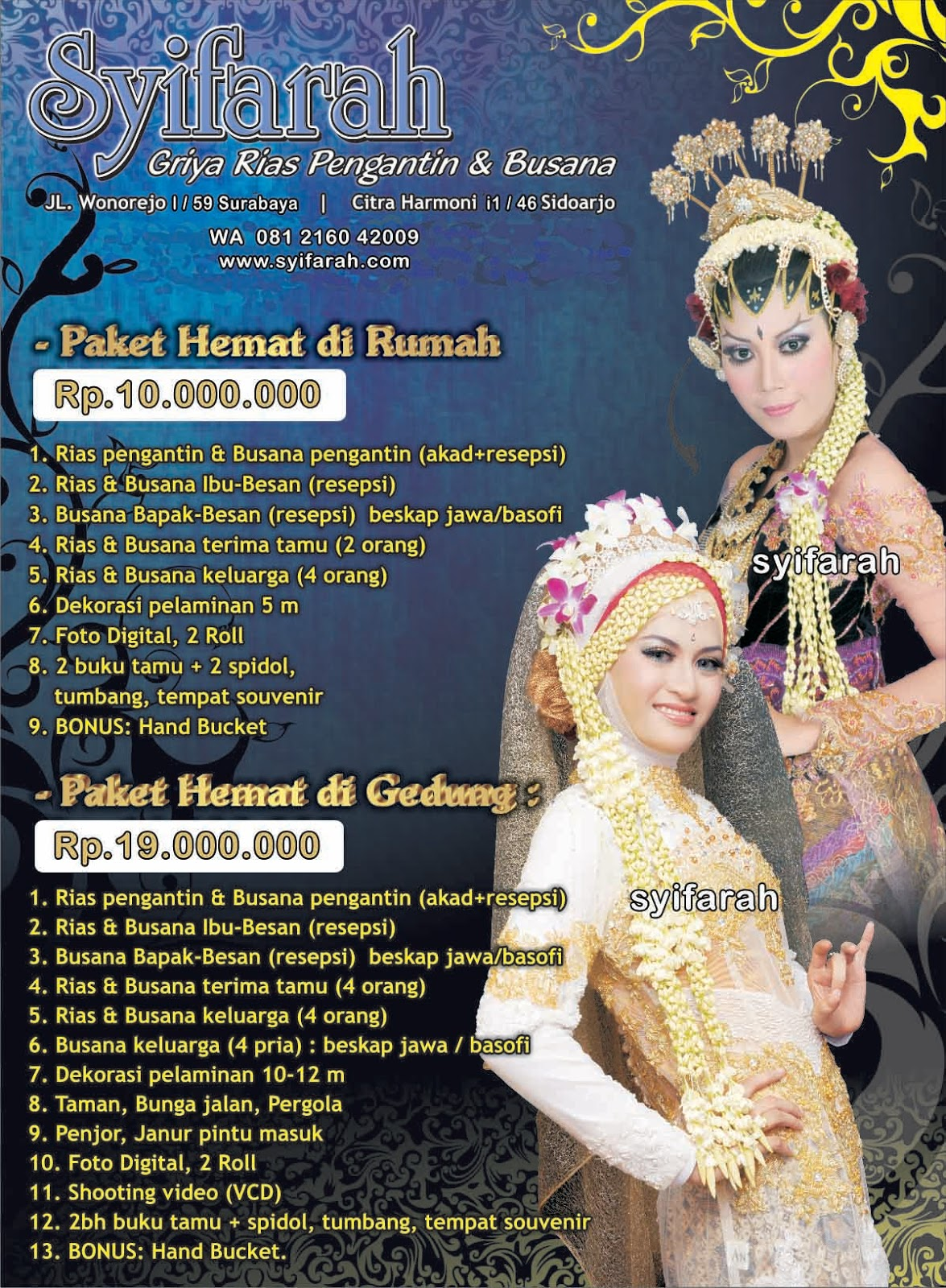 Harga Rias Pengantin Surabaya 8-8