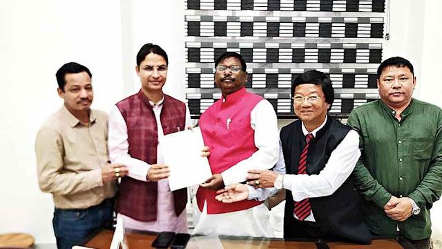 Raju Bista's plea to Arjun Munda to halt Sikkim rail project