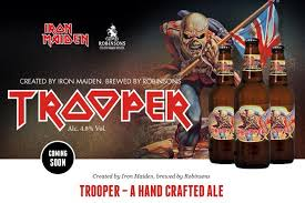 Trooper, una cerveza heavy metal